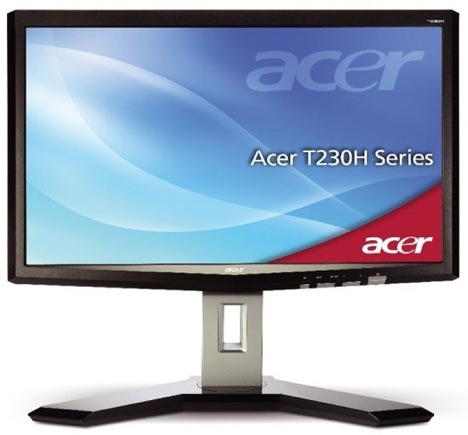 acer t230h - Monitor multitáctil Acer de 23 polegadas