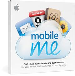 caixa mobileme - Apple realiza novos aprimoramentos no serviço online MobileMe