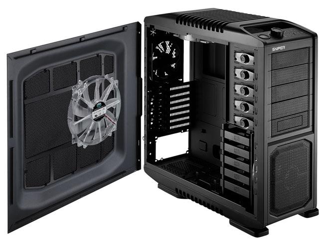 cm sniper mesh - Nova caixa Cooler Master Sniper Black Edition