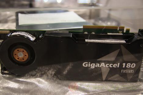 gigaaccel 180 - GigaAccel 180, a placa de vídeo dedicada na codificação de vídeo com Cell