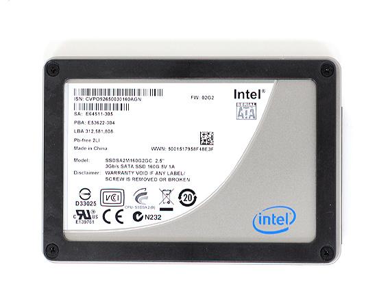 intel x25 m g2 - Reveladas as especificações do SSD X25 avalie de Intel