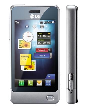 lg pop - LG Pop, telefone táctil com carregador solar