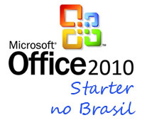 microsoft office 2010 starter br tb - Microsoft anuncia Office 2010 Starter, inclusive no Brasil