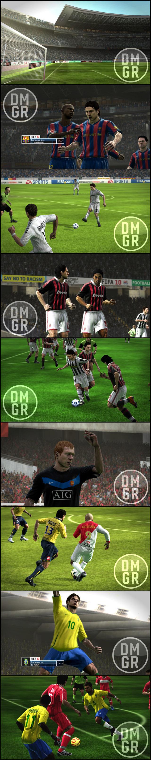 oneshotpreview - Melhoram os gráficos do FIFA 10 com um Mod