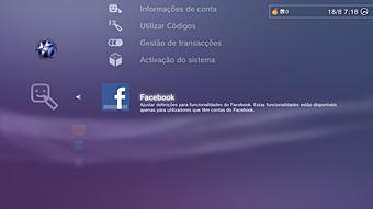 PS3 Facebook - A PS3 poderia ter suporte nativo para Facebook