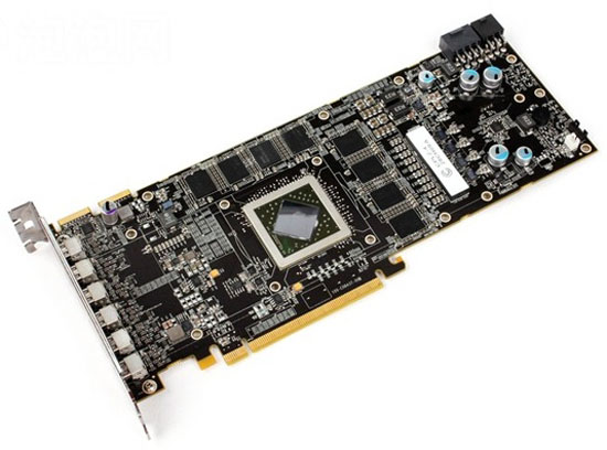 amd ati radeon hd 5870 1 - Aparece gráfica Radeon HD 5870 com seis DisplayPort