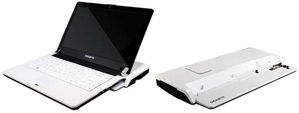 booktop m1305 - Booktop M1305 de Gigabyte obtém ajuda extra da mão de NVIDIA