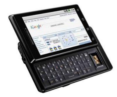 motorola 20091103193429 - Motorola estreia Android 2.0 no Brasil