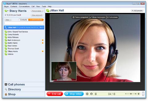 skype 4 para windows - Skype será software livre