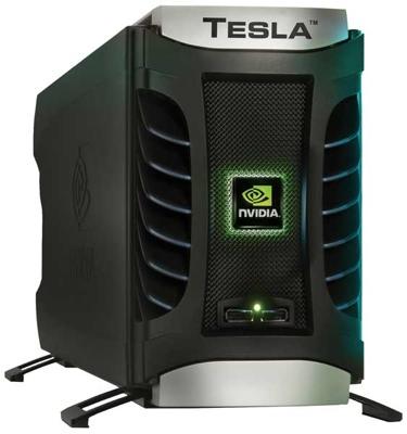 tesla 2 - NVIDIA mostrará placas Tesla baseadas em Fermi esta semana