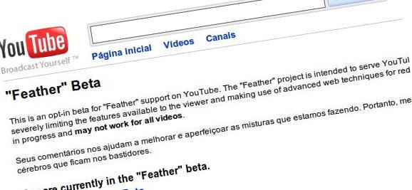 YouTube father - Youtube Feather – Uma versão leve do Youtube