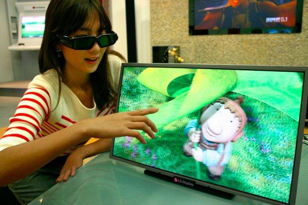 lg display full hd 3d1 - LG já tem lista sua tela 3D com resolução FullHD