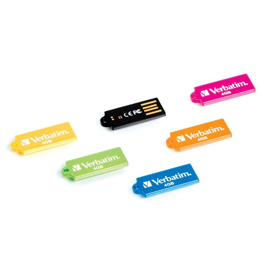 Colorful Line of Micro USB Flash Drives from Verbatim Debuts 2 - Pendrives Verbatim Micro USB