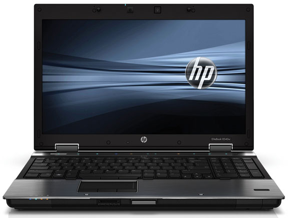 HP EliteBook 8540w 01 - HP EliteBook 8540w vai ter ATI FirePro M5800