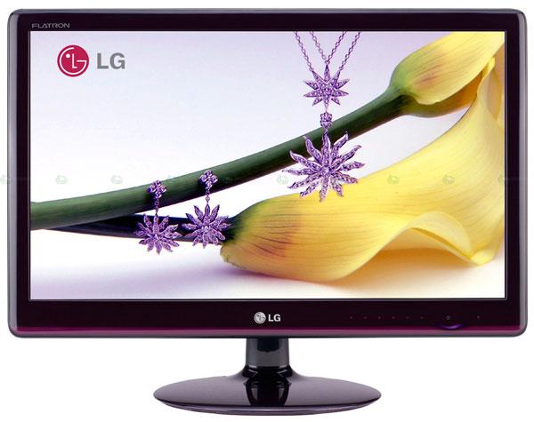 lg ex205 ex225 ex235 2 - Série EX de monitores de LG, parece mais a um televisor doque um monitor