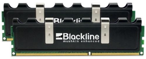 mushkin blackline 1 - Novo kit de 4GB Blackline DDR3-2000.