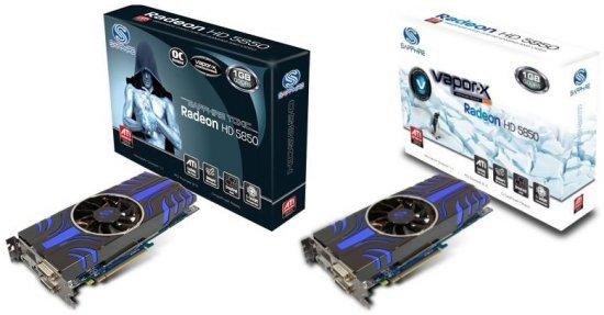 sapphire radeon hd 5850 toxic vapor x - Novas placas de vídeo Sapphire Radeon HD 5850 Toxic e VaporX