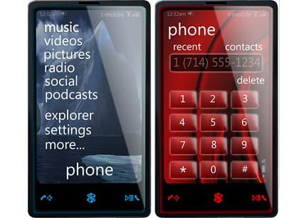 zune Phone concept - Microsoft apresentaria Zune Phone na MWC