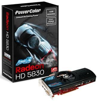 powercolor hd5830pcs 1 - PowerColor oferece as suas HD5830 com overclock