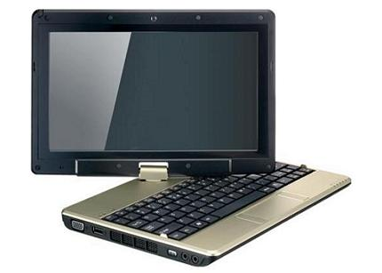 t1000x - Gigabyte T1000, netbook conversível