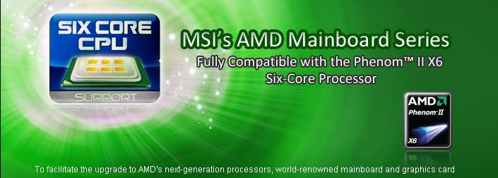 02 - Lista de placas MSI compatível com o Phenom II X6