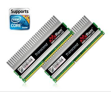6a dwqdqwd - Transcend aXeRam DDR3-2000 com Certificação XMP