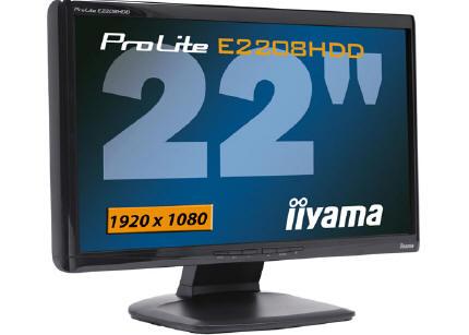 """iiyama01 - Novo Monitor de 22""""FullHD baixo custo da Iiyama"""