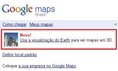 10499 - Google Maps agora tem visualização em 3D!