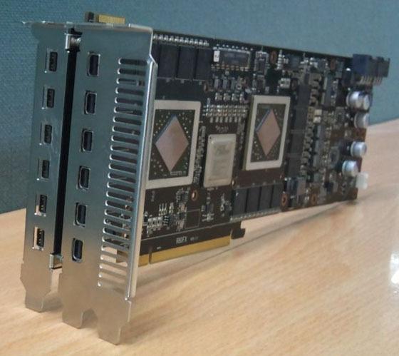 122a - PowerColor prepara gráfica HD 5970 4 GB com 12 mini DisplayPorts