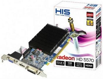 HIS radeon HD 5570 Silence 3 - HIS apresenta sua Radeon HD 5570 SILENCE