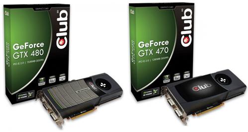 club3d gtx400 1 - Club 3D apresenta sua GeForce GTX 470 e 480