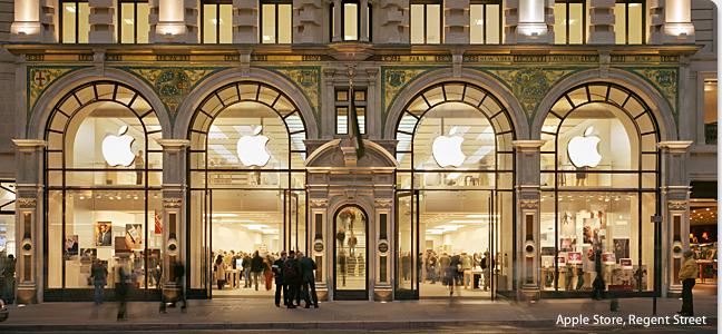home regentstreet251007 - Rápida visita do Planeta Informática na Apple Store de Londres