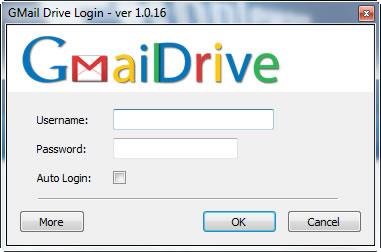 "imagem gmail drive1016 small - GMail Drive 1.0.16 – Use o Gmail como ""cloud"""