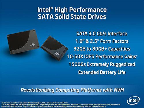 """intel ssd - Os SSDs de 1,8"""" da Intel com 300GB ?"""