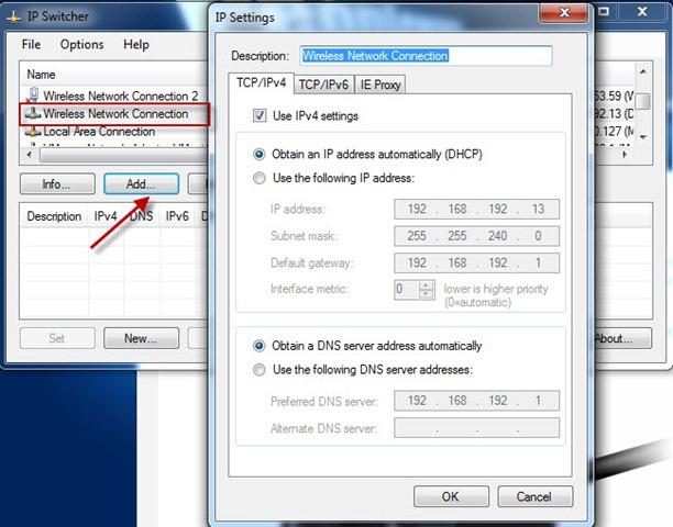 ip switcher 3 - Troque de IP rapidamente com IP Switcher 1.0.0.7