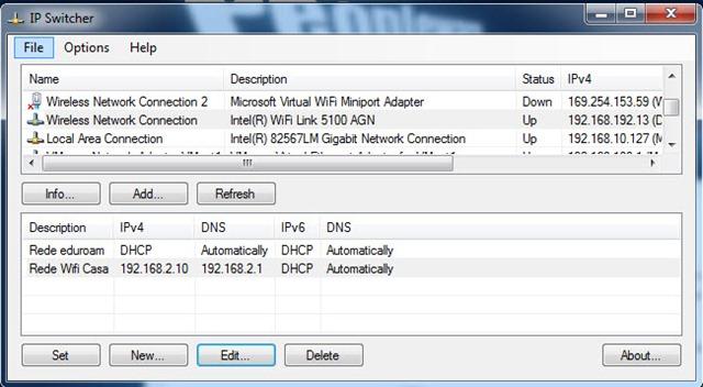 ip switcher 4 - Troque de IP rapidamente com IP Switcher 1.0.0.7