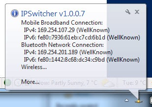 ip switcher 5 - Troque de IP rapidamente com IP Switcher 1.0.0.7