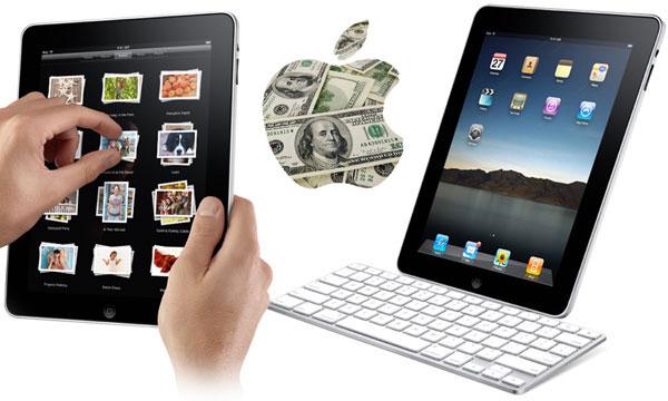 ipad money - iPad vende um milhão de unidades em 28 dias