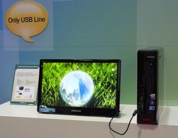 100528 samsungusb 01 - Samsung está desenvolvendo monitor que só usa cabo USB