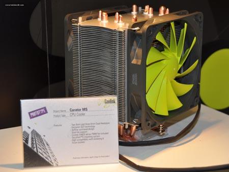 DS 0253 p - Computex 2010: Disipadores da Coolink
