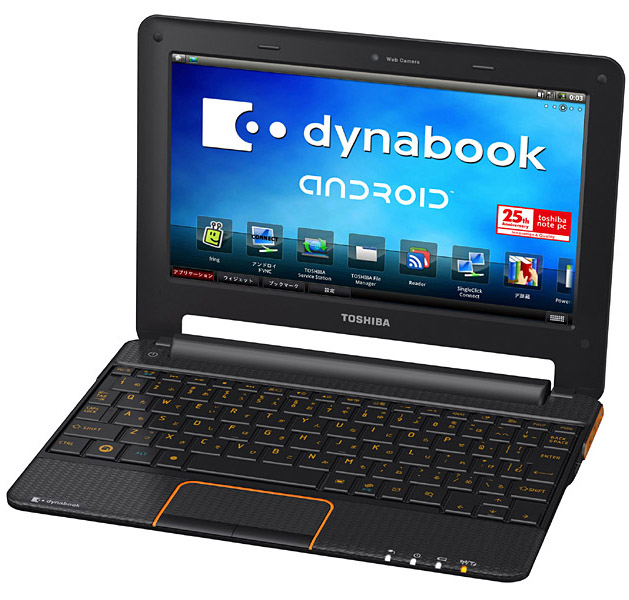 dynabook AZ - Netbook Toshiba com Android com 7 dias de bateria