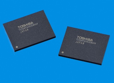 toshiba 43nm slc nand flash memory - Toshiba desenvolve chip NAND Flash integrado de 128GB