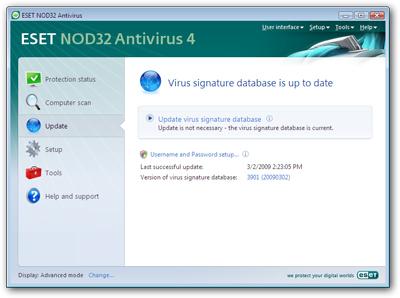 39287 01 - Nova versão do ESET NOD32 Antivirus e Smart Security
