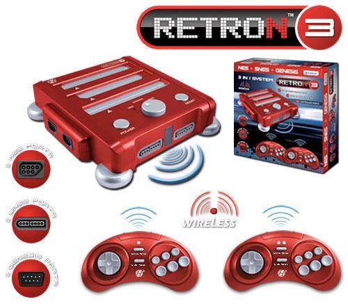 RetroN 3 01 - Console de Games 3 em 1