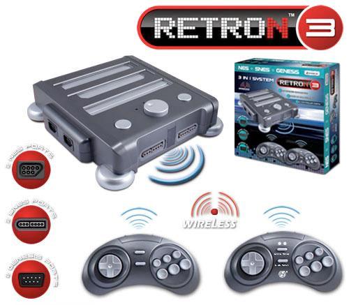 RetroN 3 02 - Console de Games 3 em 1