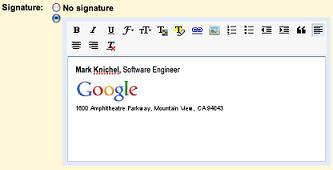 firma gmail - Gmail adiciona assinaturas com texto enriquecido