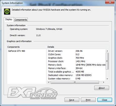 512sp GTX480 bm 01 - Primeiras análises da GTX 480 de 512 shaders