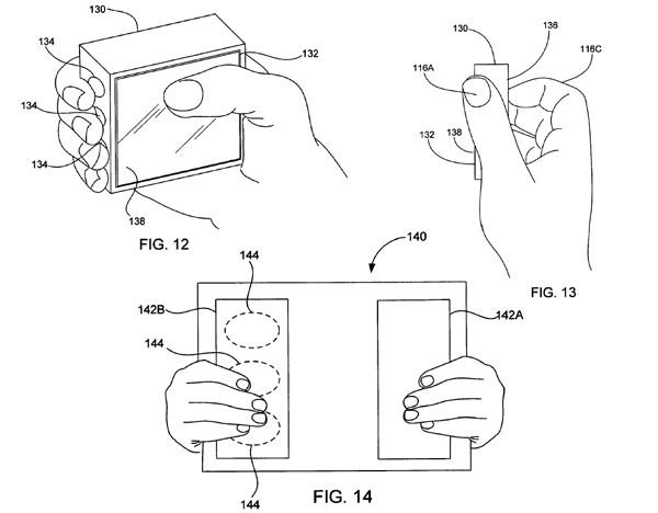 apple patent capacitive touch id - Nova patente de Apple reconhece ao usuário por suas mãos