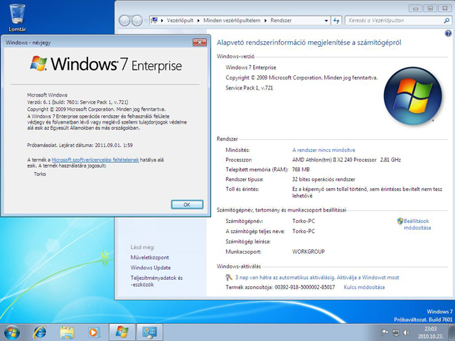 40217 01 - Windows 7 SP1 RC vaza na Web