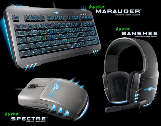 Razer StarCraft II - Mouse, Teclado e Headset para StarCraft II: Wings of Liberty